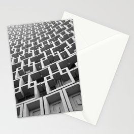 Hotel Uzbekistan, Tashkent. architecture photography poster art print  Stationery Cards