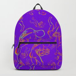 In These Hands Purple Backpack
