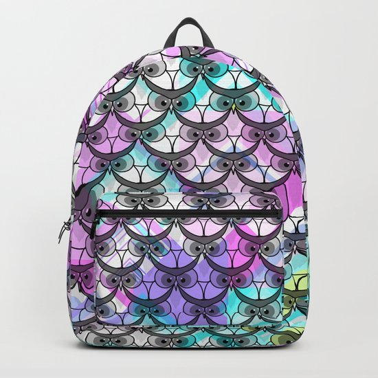 Frowning owls Backpack