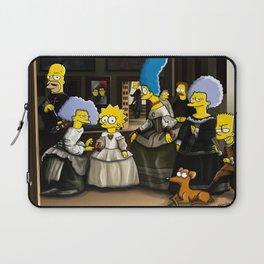Las Meninas - Simpsonized Laptop Sleeve