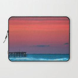 Sunset by the Avalon Pier Laptop Sleeve