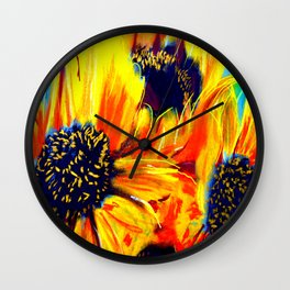 Girasol Nine Wall Clock