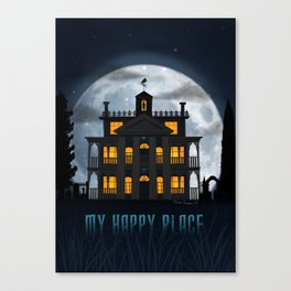 My Happy Place by Topher Adam 2017 Canvas Print