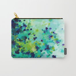 Aquamarine Addiction Carry-All Pouch