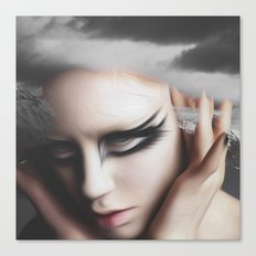 The innocence of Her  Canvas Print