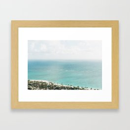 Oahu Dreaming Framed Art Print