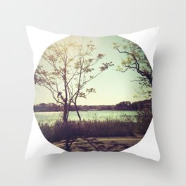 salt water is the cure for anything. Throw Pillow