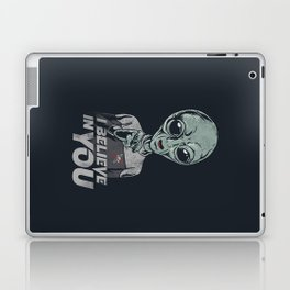 i believe in you Laptop & iPad Skin
