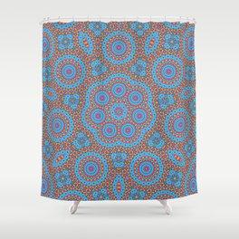 Ocean Mandala Shower Curtain