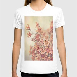 Orange Waxflowers T-shirt