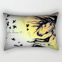 Dreams can be real. Rectangular Pillow
