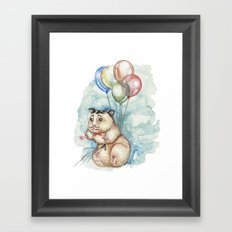 It's never too late to fly Framed Art Print
