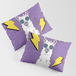 Drama Llama (Purple) Pillow Sham