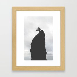 Sea Stacks of Washington Framed Art Print