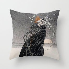 "Kay Nielsen Illustration from ""A Mother's Story"" Throw Pillow"