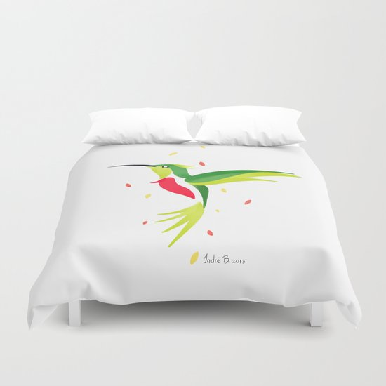 Hummingbird 2 Duvet Cover