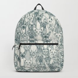 just sphynx cats pine half pearl Backpack