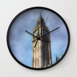 Big Ben, London Wall Clock