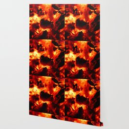 Hot Embers Wallpaper