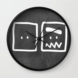 Chalkboard Wallies Wall Clock