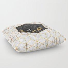 Like a boss Floor Pillow