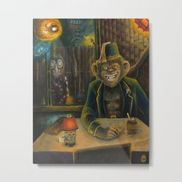 Lester Dines At The Mai Kai Metal Print