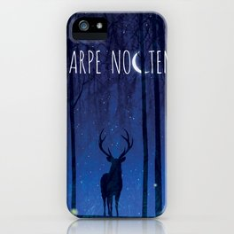 Seize the Night iPhone Case