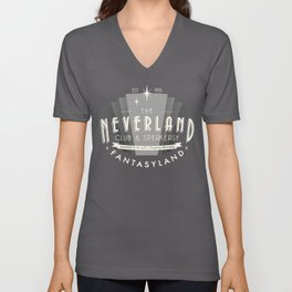 The Neverland Club and Speakeasy Unisex V-Neck