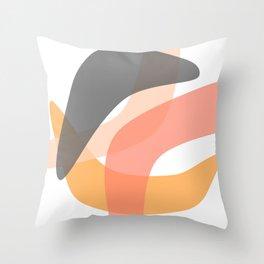 Trendy Colors Throw Pillow