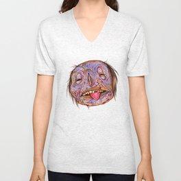 Rotten Head - Putrid Purple Unisex V-Neck