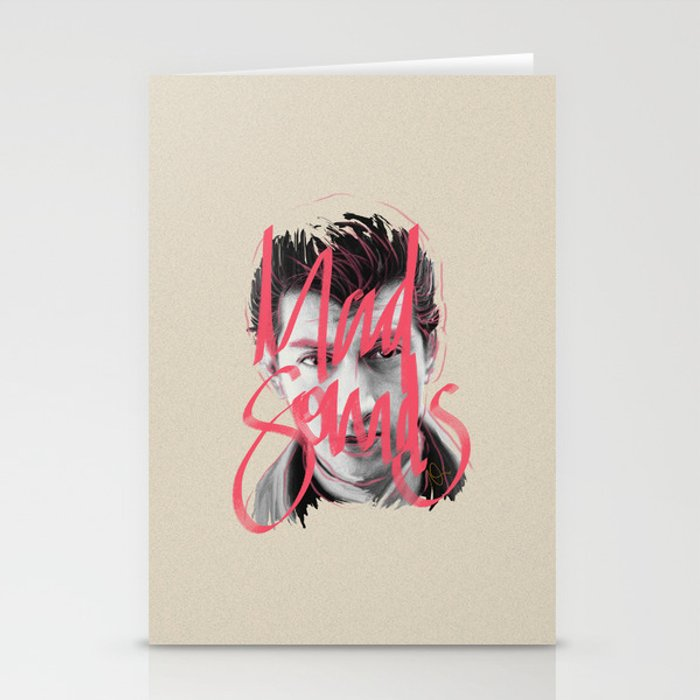 Mad Sounds Stationery Cards