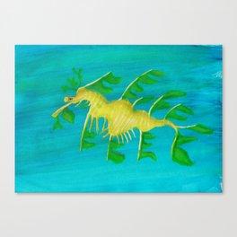 Seadragon Canvas Print