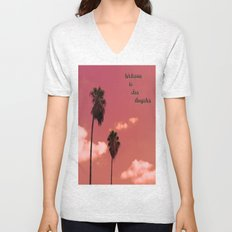 Welcome to Los Angeles Unisex V-Neck