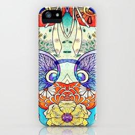 Morning Charm Japanese art iPhone Case