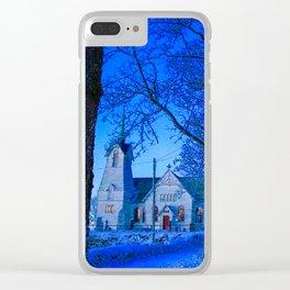 Swedish Church Clear iPhone Case