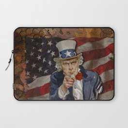 Steampunk Sam Laptop Sleeve