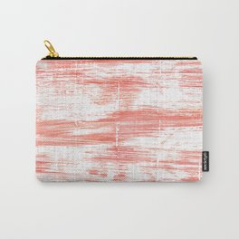Light salmon pink abstract watercolor Carry-All Pouch