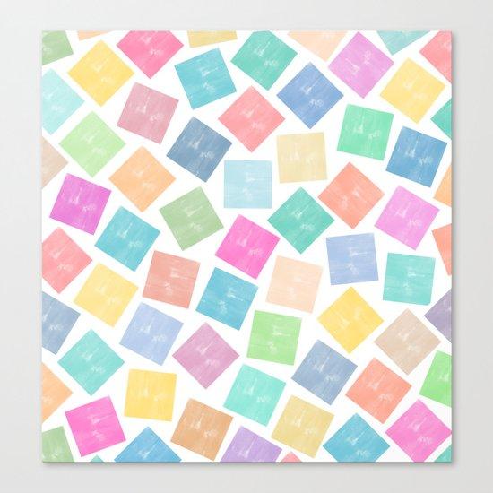 Colorful Geometric Patterns II Canvas Print