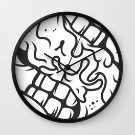 S is for Smile Wall Clock
