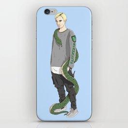 Draco Malfoy iPhone Skin