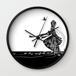 Daisy Girl Wall Clock