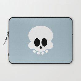Skully light blue version Laptop Sleeve