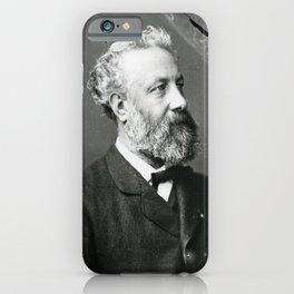 portrait of Jules Verne by Nadar iPhone Case