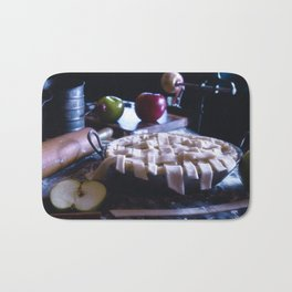Apple Pie in the Making Bath Mat