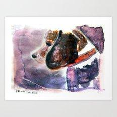 The Beaglenut Art Print