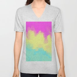 pansexual abstract Unisex V-Neck