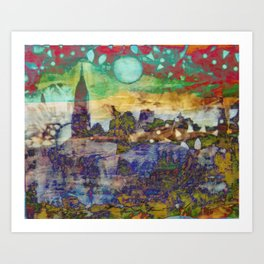 City of my Dreams Art Print