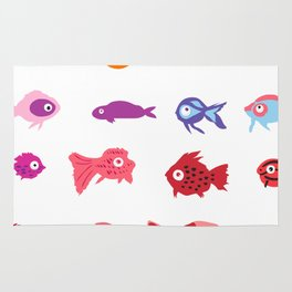 Fish collection Rug