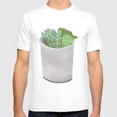 Cactus Plant II Mens Fitted Tee White MEDIUM
