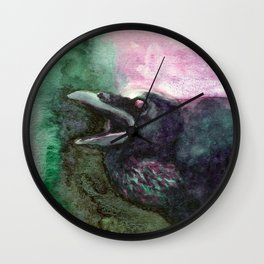 Complementary Raven 3 Wall Clock